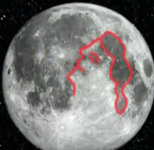 figura cara luna