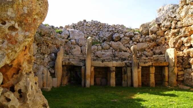 Templos Ggantija Isla de Gozo Malta
